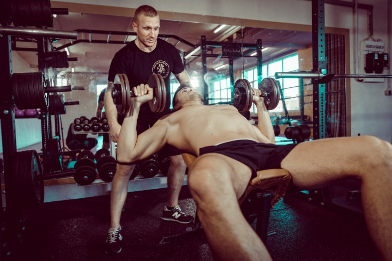 Fitnesstraining mit Kevin Saszik